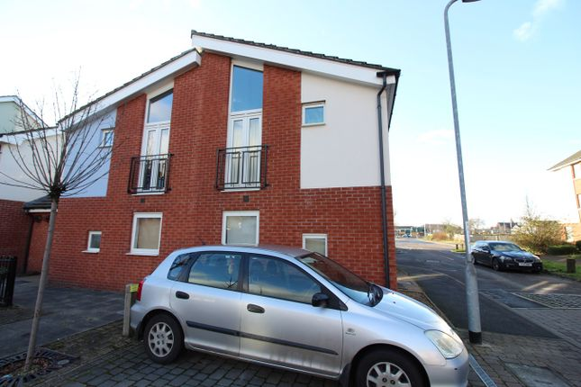 Thumbnail End terrace house for sale in Ariel Close, Newport