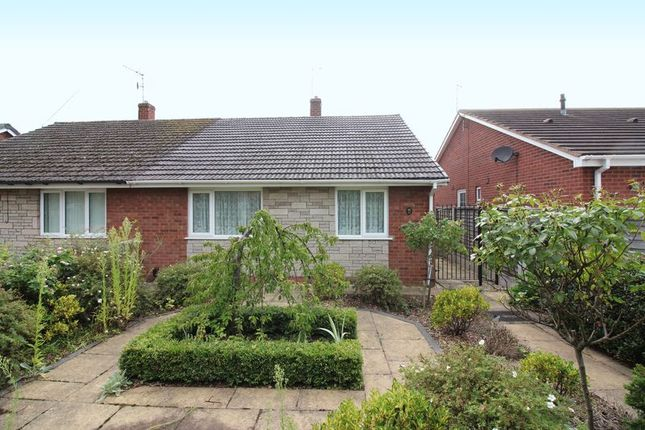 Thumbnail Semi-detached bungalow for sale in Rosedale Walk, Kingswinford