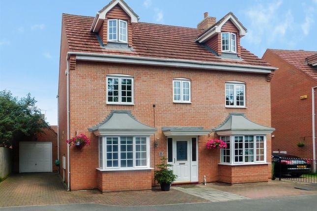 Thumbnail Detached house for sale in Derbyshire Drive, Castle Donington, Derby