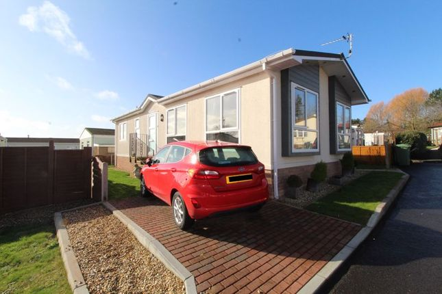 Thumbnail Mobile/park home for sale in The Triangle, Woodlands Park, Bristol