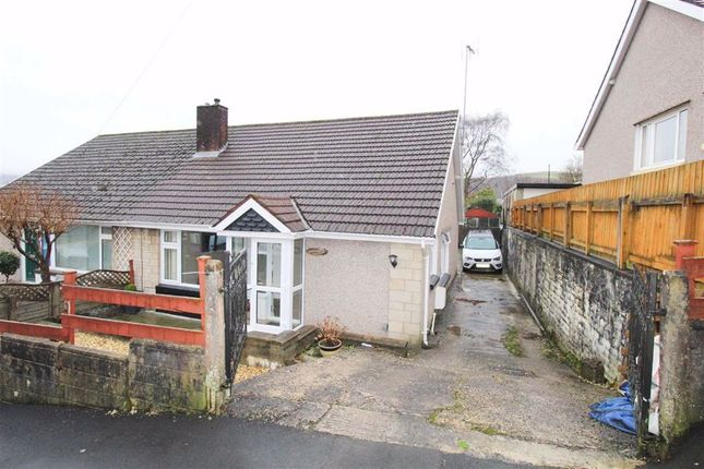 2 bed semi-detached bungalow to rent in Coed Isaf Road, Maesycoed, Pontypridd CF37