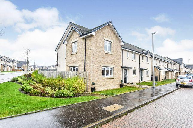 Thumbnail End terrace house for sale in Mossend Drive, West Calder, West Lothian