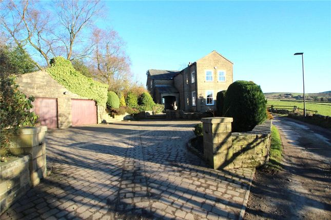 Thumbnail Detached house for sale in Hollingworth Fold House, Syke Road, Littleborough, Greater Manchester