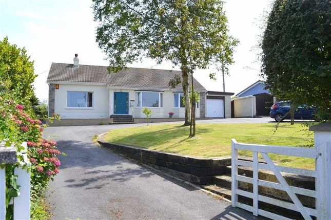 Thumbnail Detached bungalow for sale in Maenygroes, New Quay, Ceredigion