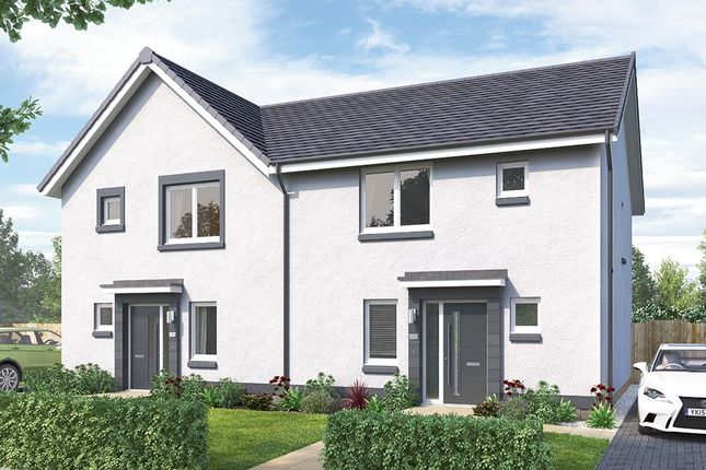 "3 bedroom semi-detached house for sale in ""The Hamilton"" at Brora Crescent, Hamilton"