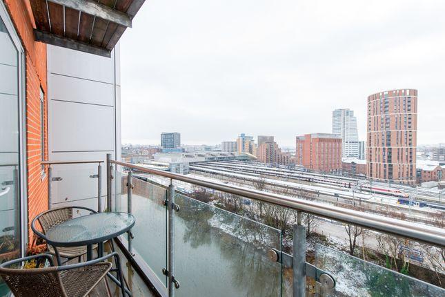 Balcony View of Flat 133, 3, Whitehall Quay, Leeds LS1