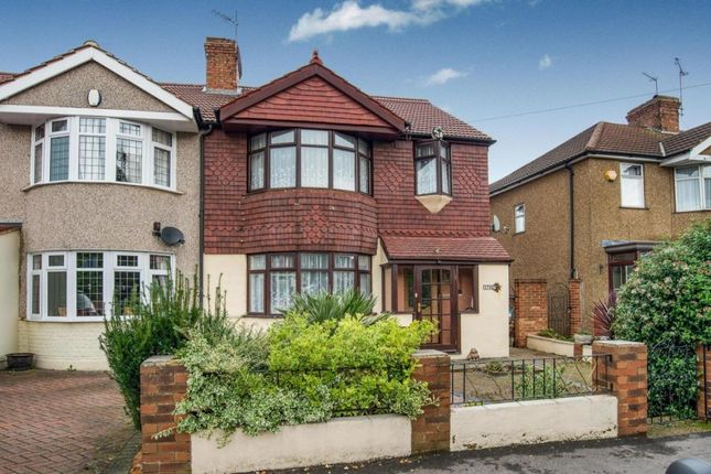 Thumbnail Semi-detached house to rent in Wilmot Road, Dartford