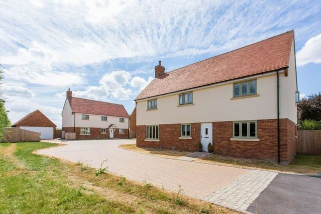 Thumbnail Detached house for sale in Millars Close, Main Street, Grendon Underwood, Aylesbury