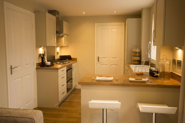 "Thumbnail Detached house for sale in ""The Chedworth"" at Northborough Way, Boulton Moor, Derby"