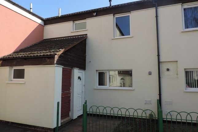 Thumbnail Terraced house to rent in Crabtree, Paston, Peterborough