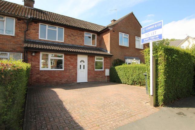 3 bed terraced house to rent in Middleton Road, Oswestry SY11
