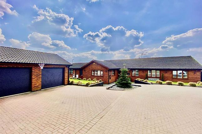 Thumbnail Detached bungalow for sale in Chapel Lane, Sharnford, Leicester