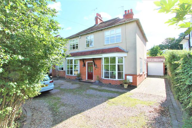 Thumbnail Detached house for sale in Wigston Road, Oadby, Leicester