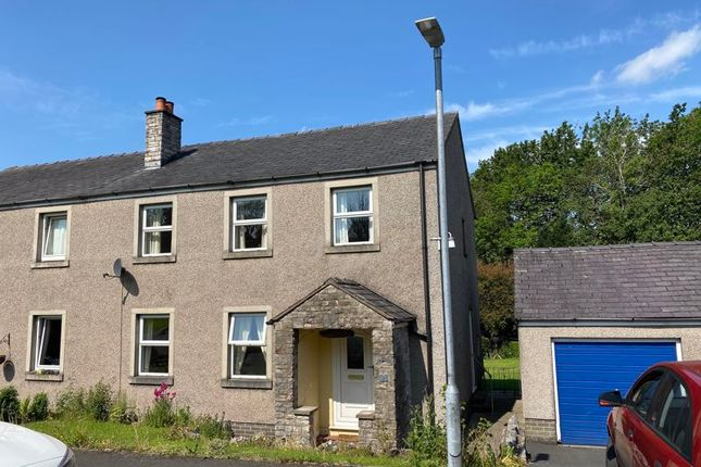 Thumbnail Semi-detached house for sale in 9 Galloper Park, Tebay, Penrith