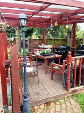 Garden of Manor Road, Cuddington, Northwich, Cheshire CW8