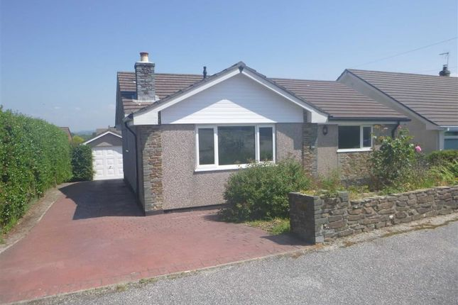 Thumbnail Detached bungalow to rent in Penmead Road, Delabole, Cornwall