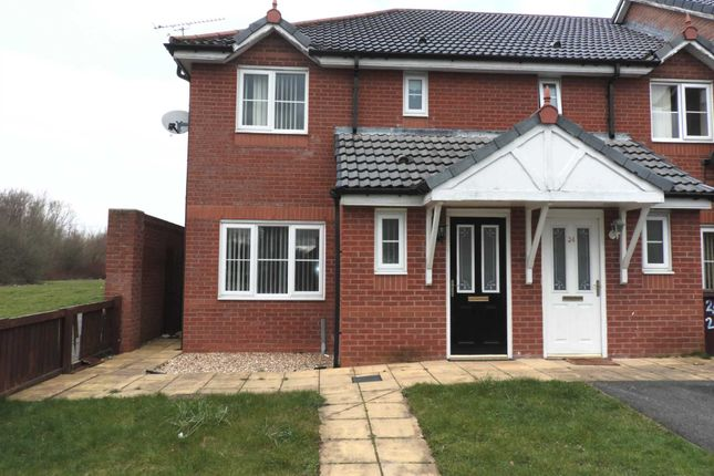 Thumbnail End terrace house for sale in Newick Road, Kirkby, Liverpool