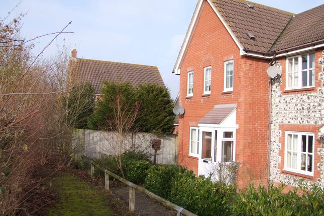 Thumbnail End terrace house for sale in Bittern Road, Saxmundham