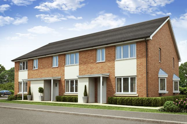 "Thumbnail Terraced house for sale in ""Amber"" at Eastfield Road, Wellingborough"