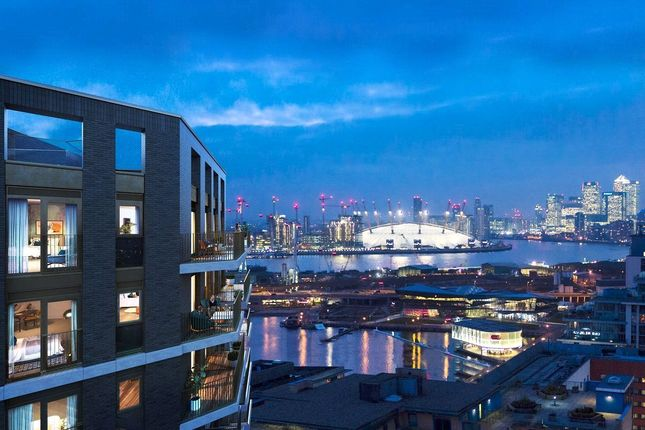Thumbnail Flat for sale in Royal Dock West, Royal Victoria, London