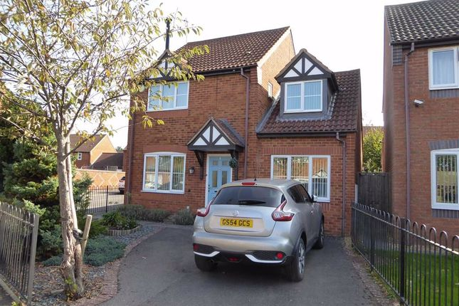 Thumbnail Detached house for sale in Coxs Orchard, Leamington Spa, Warwickshire