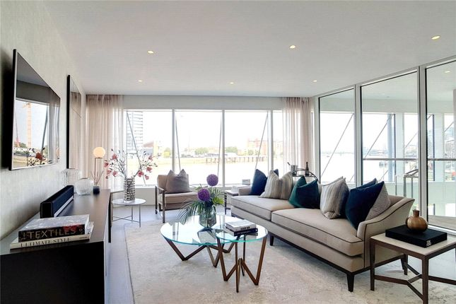 Thumbnail Flat for sale in Discovery House, Battersea Reach, London