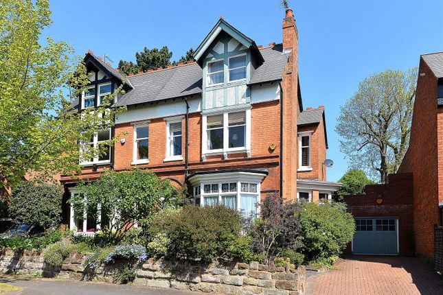 Thumbnail Semi-detached house for sale in Blenheim Road, Moseley, Birmingham