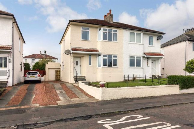 Thumbnail Semi-detached house for sale in Sherwood Drive, Thornliebank, Glasgow