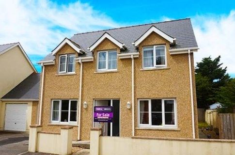 Thumbnail Link-detached house for sale in The Meads Drive, Haverfordwest