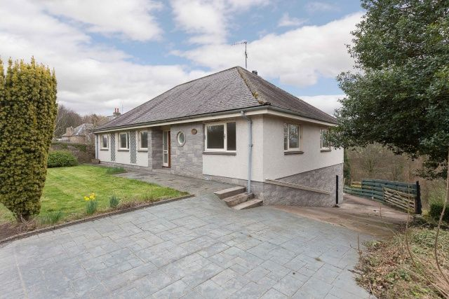 Thumbnail Bungalow for sale in Lennel, Coldstream, Borders