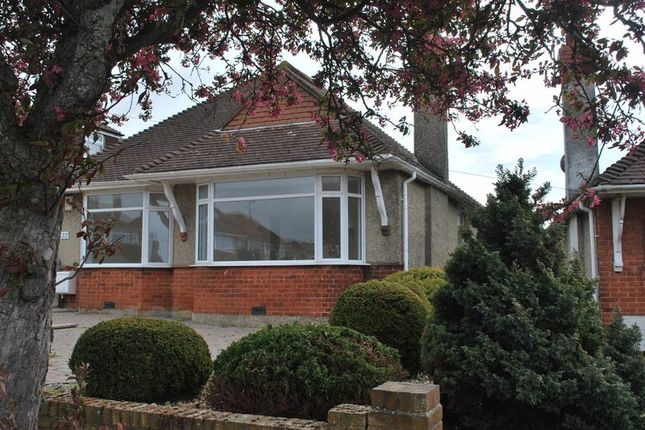 Thumbnail Detached bungalow to rent in Hillside, Southwick, Brighton