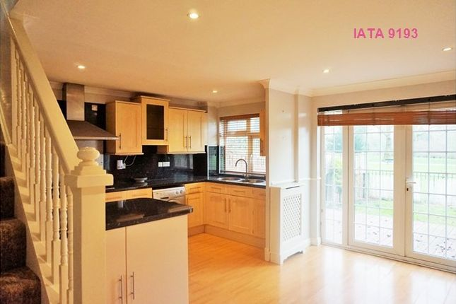 Thumbnail Terraced house to rent in Frankland Close, London