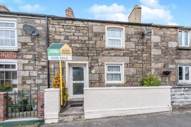 Thumbnail Terraced house for sale in Praze An Beeble, Camborne, Cornwall