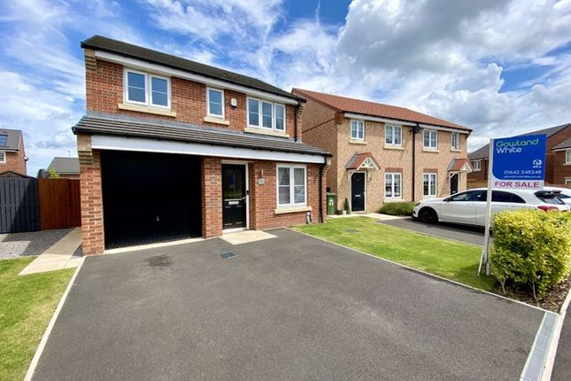 Thumbnail Detached house for sale in Goosepool Drive, Eaglescliffe
