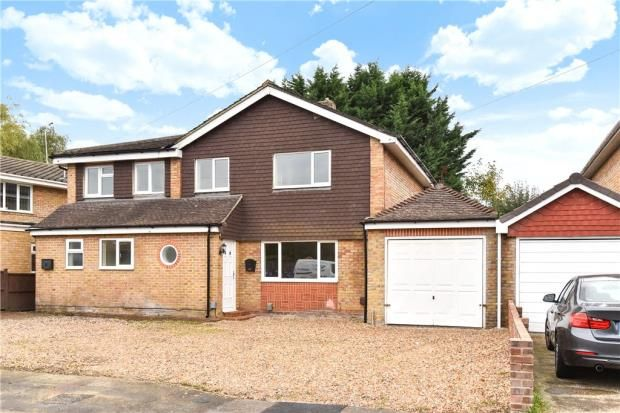 Thumbnail Detached house for sale in Kevins Drive, Yateley, Hampshire