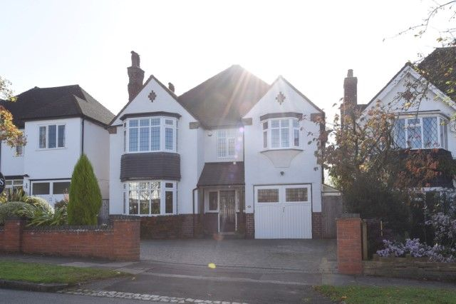 Thumbnail Detached house for sale in Monkseaton Road, Sutton Coldfield