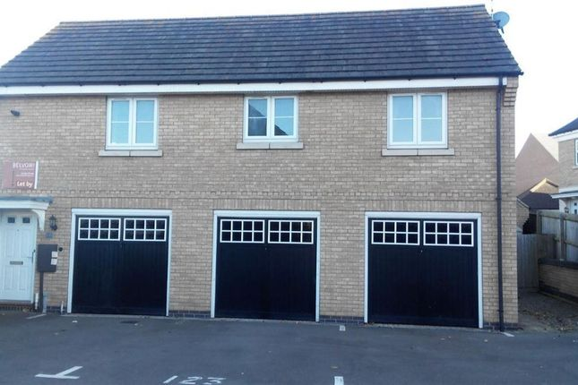 Thumbnail Flat to rent in Longstork Road, Rugby