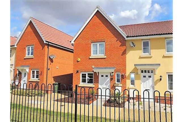Thumbnail End terrace house for sale in Abbey Path, Basildon