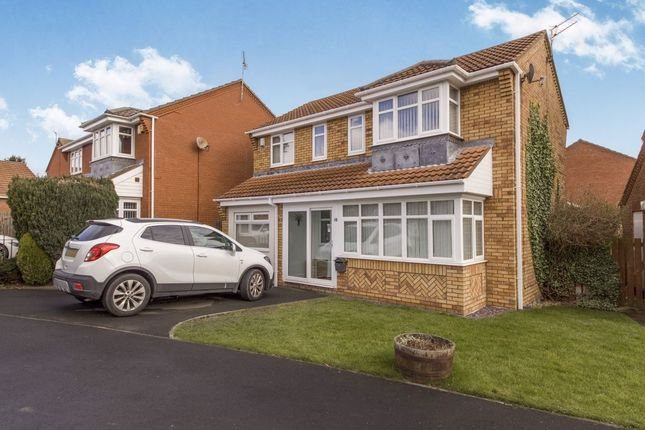 Thumbnail Detached house for sale in Southfields, Dudley, Cramlington