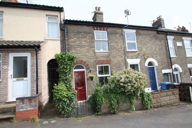 Thumbnail Terraced house for sale in Newmarket Street, Norwich