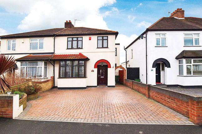 Thumbnail Semi-detached house for sale in Mount Road, Bexleyheath, Kent