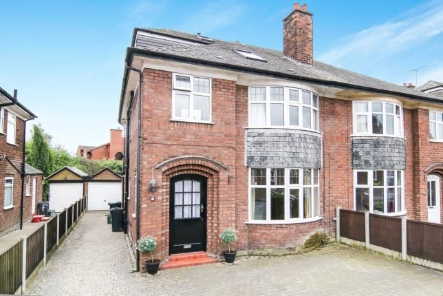 Thumbnail Semi-detached house for sale in Melrose Avenue, Vicars Cross, Chester, Cheshire