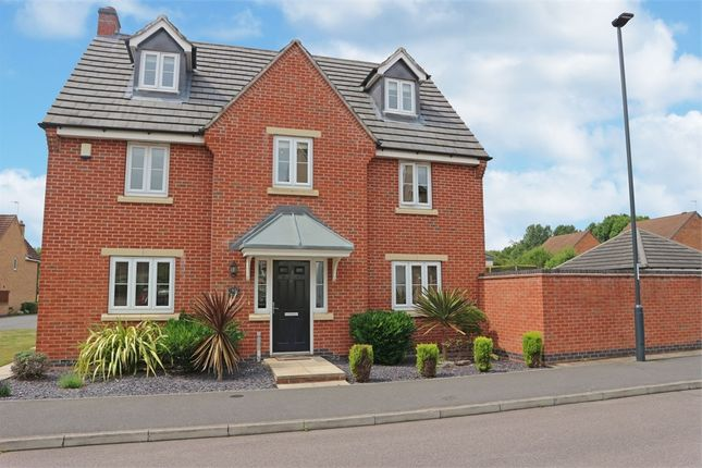 Thumbnail Detached house for sale in Montague Way, Chellaston, Derby