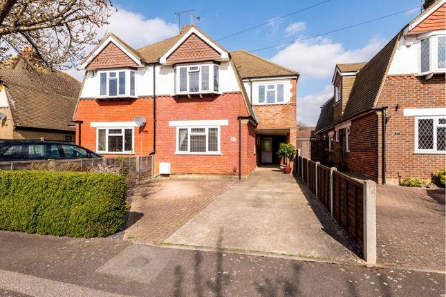 Thumbnail Semi-detached house for sale in Tudor Grove, Gillingham