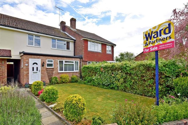 Thumbnail Terraced house for sale in Grasmere Road, Kennington, Ashford, Kent