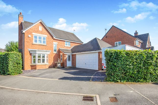 Thumbnail Detached house for sale in Booth Drive, Ashbourne