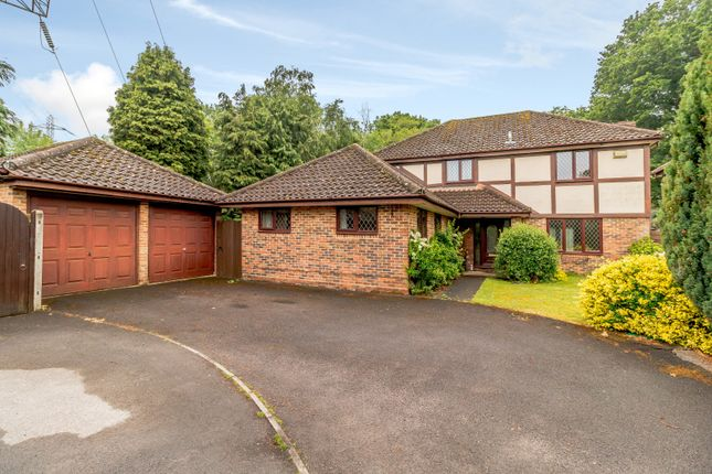 Thumbnail Detached house for sale in Fairwater Drive, New Haw, Addlestone