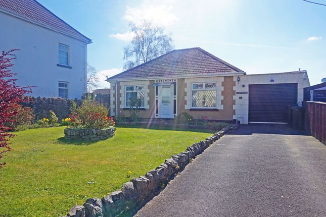 Thumbnail Bungalow for sale in Gelligaer Road, Trelewis, Treharris
