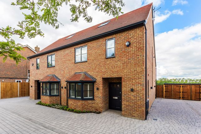 Thumbnail Semi-detached house for sale in Wisteria Mews, Off Cheyham Way, South Cheam, Surrey