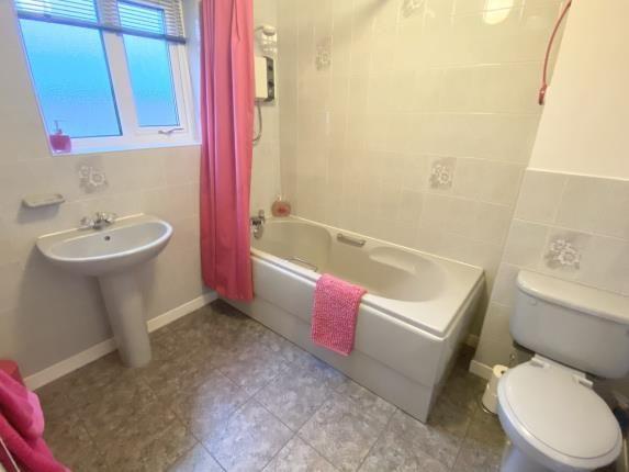 Bathroom of Uwch Y Nant, Mynydd Isa, Mold, Flintshire CH7